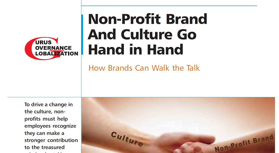Non-profit Brand And Culture Go Hand In Hand