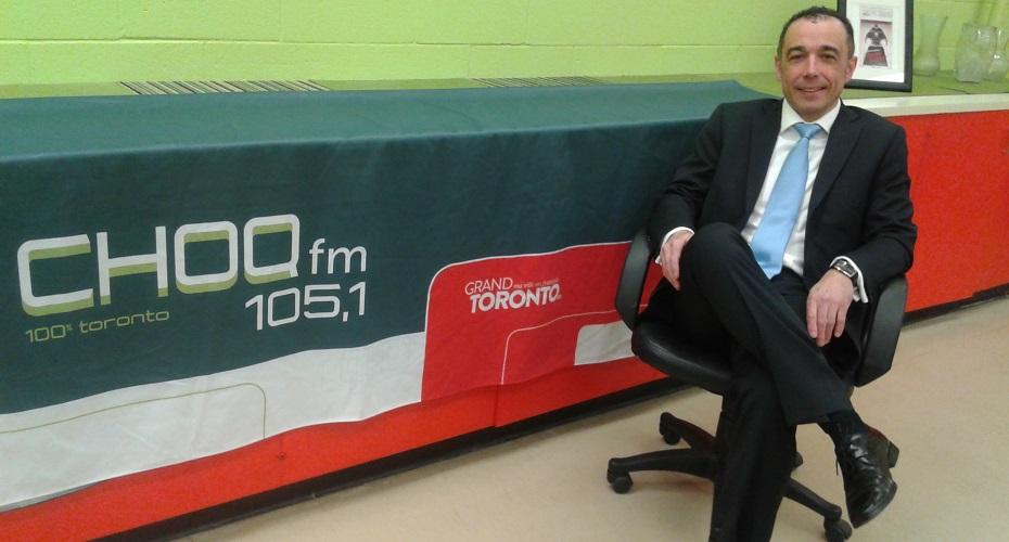 CHOQ-FM Interviews ORCHANGO President