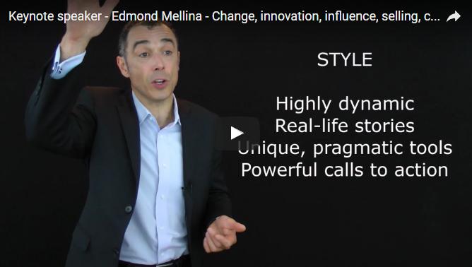 Promo Video – Edmond Mellina, Keynote Speaker