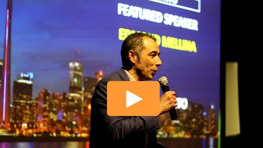 DisruptHR Talk 2017 Edmond Mellina