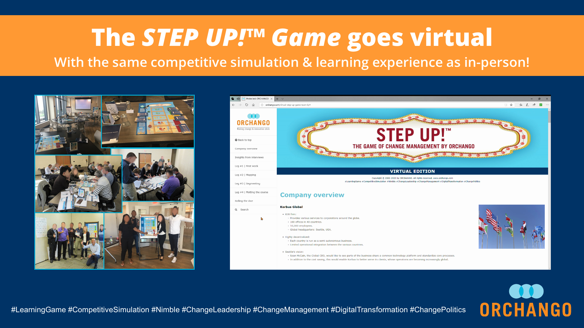 Our STEP UP!™ Game Simulation Goes Virtual!!